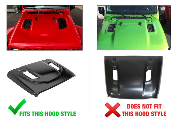 Hood Scoop Comparisons