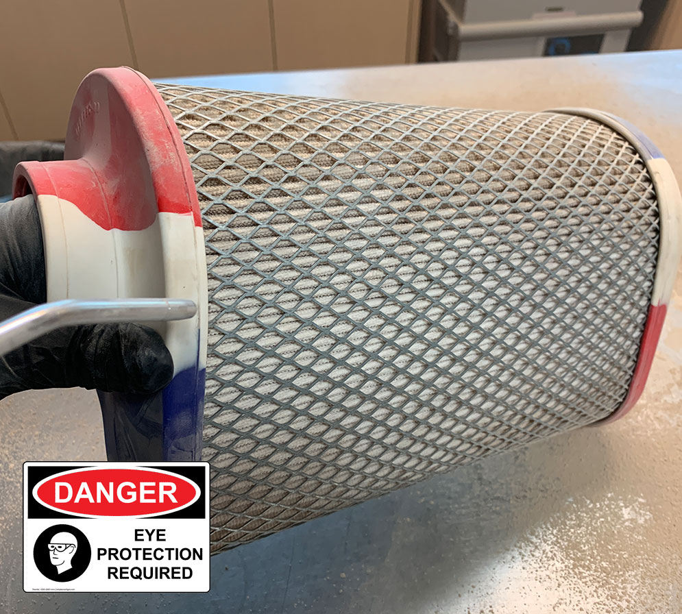 Clean Your Dry Filter Step 3
