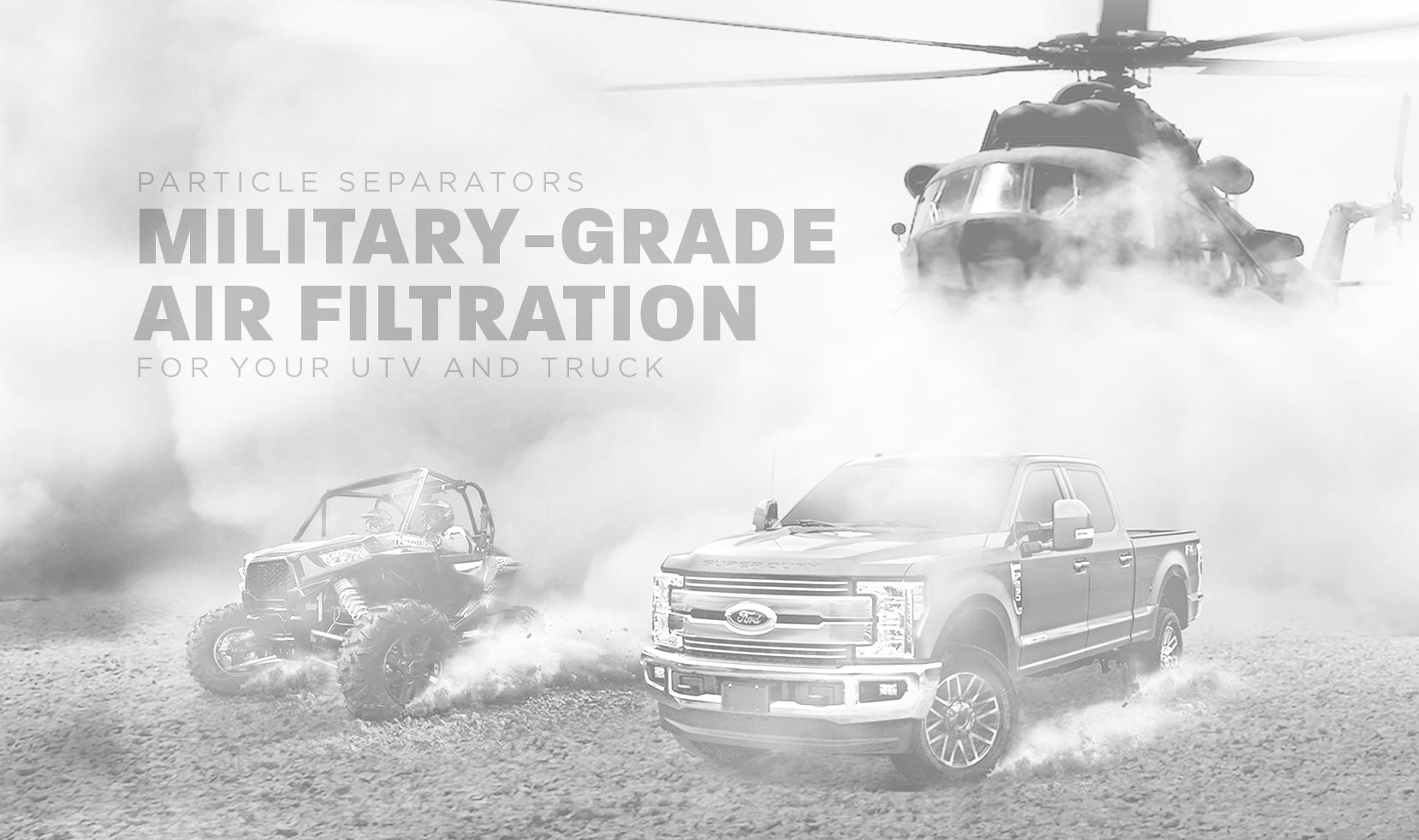 Best Air Filtration System For Your UTV, Truck or Jeep